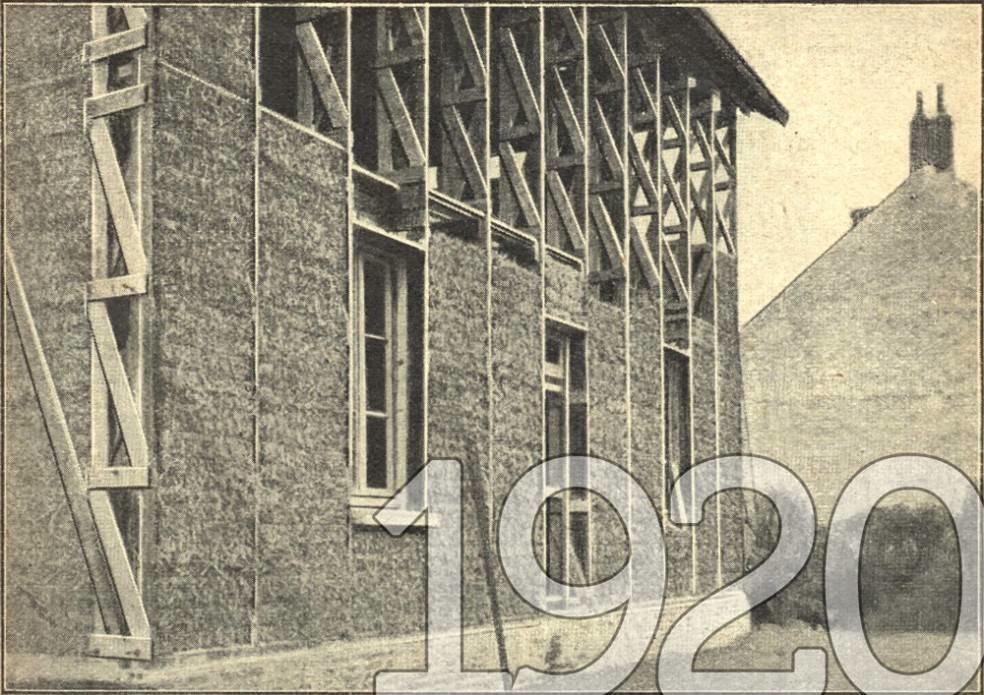 Maison Feuillette à sa construction en 1920