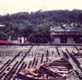 Coque noix coco toiture - Debris-House par Wallmakers - Pathanamthitta, Inde © Anand Jaju