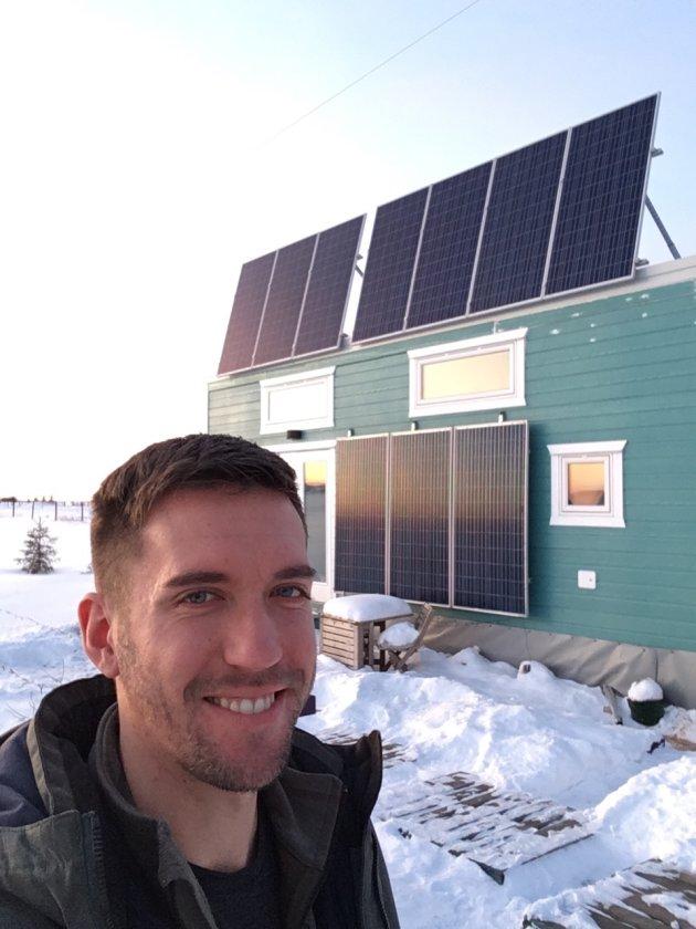 Kenton Zerbin - minuscule maison adaptée au froid du Canada