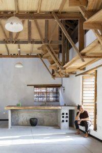 Mini cuisine - House-Flying-Beds par Al Borde - Equateur © JAG Studio