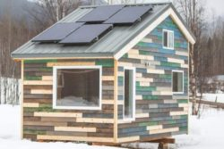 Tiny House Blue - Vue d'ensemble