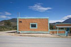 maison tradionnelle en terre crépie © Onnis Luque