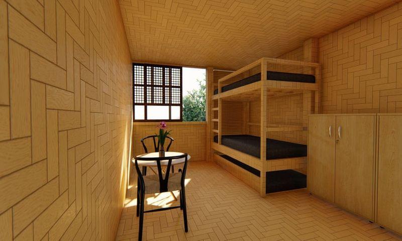 Chambre avec double lits - Cubo par Eral Forlales - Manille, Philippines © Handout
