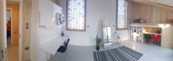 Chambre avec mini bureau - Prototype-Baitikool-Solar-Decathlon