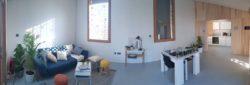 Mini salon et salle séjour - Prototype-Baitikool-Solar-Decathlon