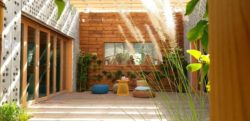 Salon terrasse design - Prototype-Baitikool-Solar-Decathlon