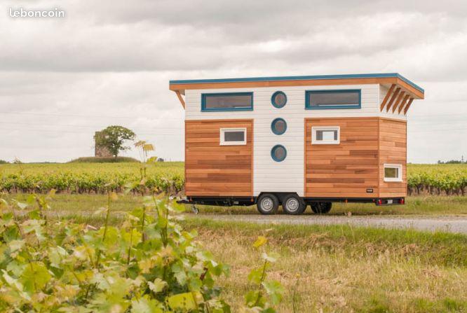 Vente Tiny House Baluchon – 2 chambres – clés en main