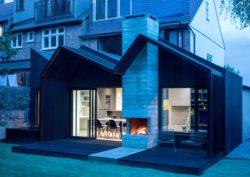 Façade principale - Contemporary-Extension par Gruff-Limited - Londres, Angleterre © Ben Blossom