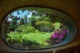 Grande ouverture vitrée - Organic-House par Javier Senosiain - Naucalpan de Juarez, Mexique © Cortesia Javier Senosiain
