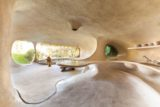 Pièce principale - Organic-House par Javier Senosiain - Naucalpan de Juarez, Mexique © Cortesia Javier Senosiain