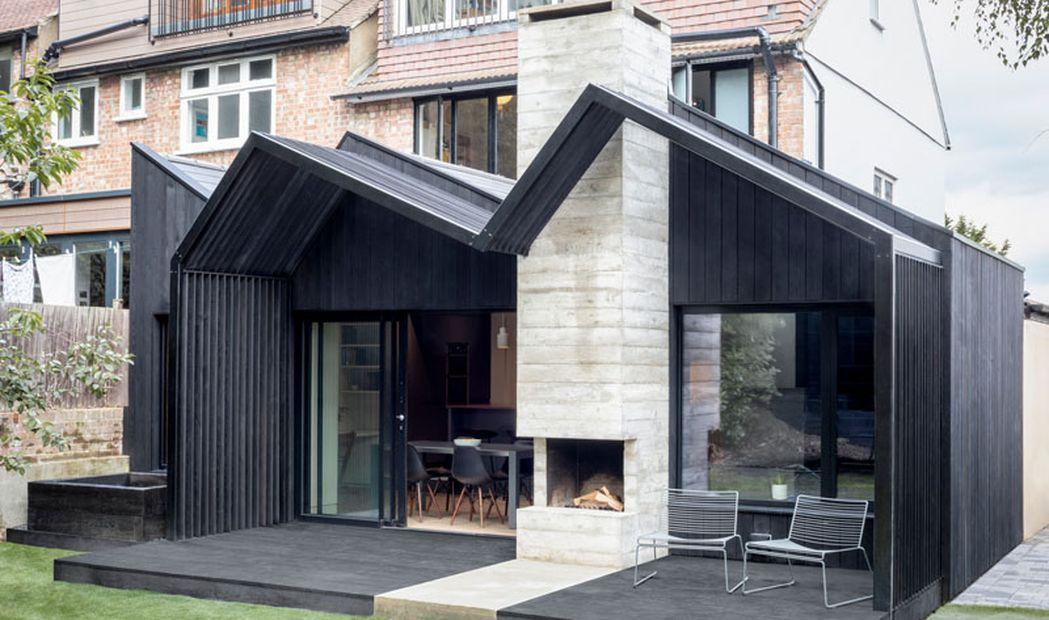 Une Extension Contemporaine Ajoutee A Cette Maison De Londres Build Green