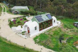 Vue panoramique - earthship-home par Martin-Zoe - Adelaide, Australie