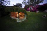 Vue pièce semi-enterrée - Organic-House par Javier Senosiain - Naucalpan de Juarez, Mexique © Cortesia Javier Senosiain