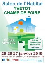 25ème Salon de l'HABITAT et ECOSOLUTIONS d'YVETOT