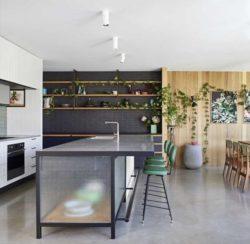 îlot central de cuisine - Annexe par Bent - Australie © notapaperhouse