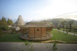 1-Première Biennale internationale d'architecture en bambou - Zhejiang, Chine © Juien Lanoo