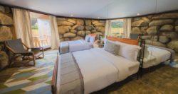 Chambre et ouverture mini séjour - House 8 par TAC Taller - Mexique, Vallee de Guadalupe © Humberto Romero
