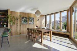 Cuisine et salle à manger - Annexe par Bent - Australie © notapaperhouse