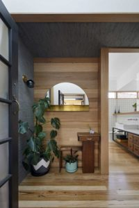 Entrée salle de bains - Annexe par Bent - Australie © notapaperhouse