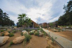Façade jardin - House 8 par TAC Taller - Mexique, Vallee de Guadalupe © Humberto Romero