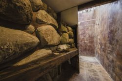 Lavabo salle de bains - House 8 par TAC Taller - Mexique, Vallee de Guadalupe © Humberto Romero