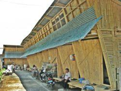 Multi studio en bambou -Pemulung House par IBUKU - Bali, Indonesie © IBUKU