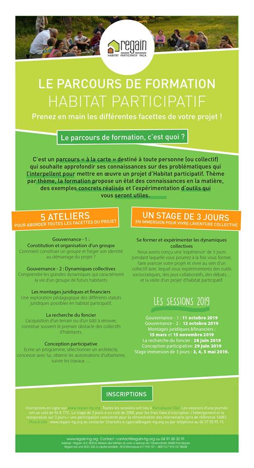 « Stage Habitat Participatif – 3 jours en immersion (Pierrerue-FR43)