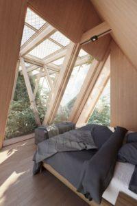 Chambre et vue jardin culture - La Ferme par Precht Designs - © Precht