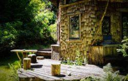 Façade terrasse bois - Fame-Forest par Snoopy - © livingbiginatinyhouse