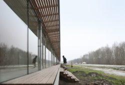 Façade terrasse bois - oosterword-bureau SLA and ZakenMaker - Pays Bas - Photo Filip Dujardin
