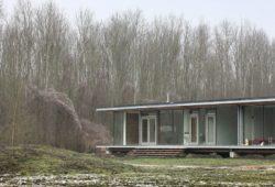 Grande façade vitrée - oosterword-bureau SLA and ZakenMaker - Pays Bas - Photo Filip Dujardin