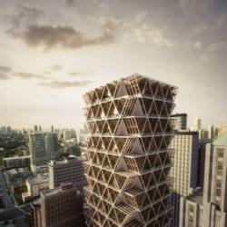 Immeuble bois concept modulaire - La Ferme par Precht Designs - © Precht