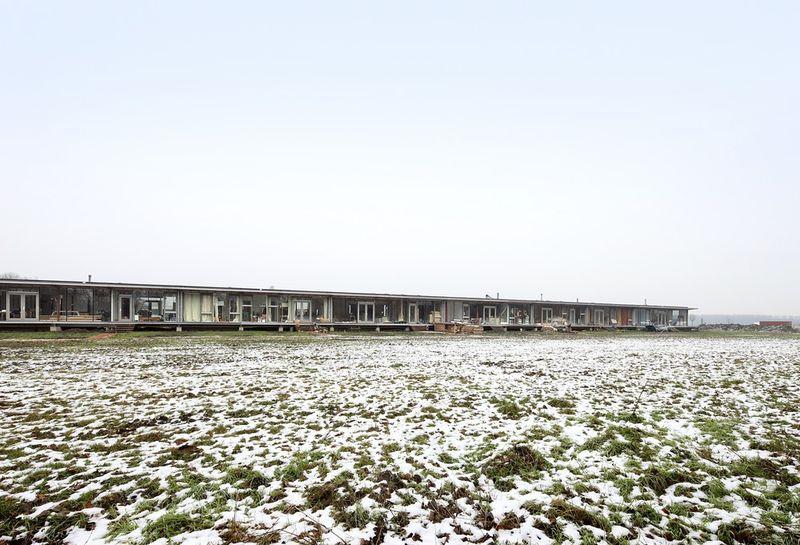 Surface habitable pour chaque famille - oosterword-bureau SLA and ZakenMaker - Pays Bas - Photo Filip Dujardin