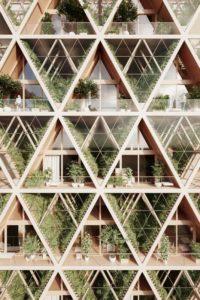 Unité modulaire bois - La Ferme par Precht Designs - © Precht