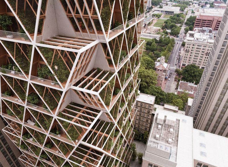 Vue panoramique unité modulaire - La Ferme par Precht Designs - © Precht