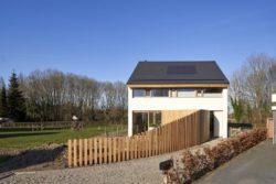Clôture - Barnhouse par RVArchitecture - Werkhoven, Pays-Bas © Rene de Wit