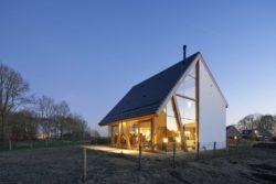 Clôture propriété - Barnhouse par RVArchitecture - Werkhoven, Pays-Bas © Rene de Wit