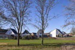 Façade jardin - Barnhouse par RVArchitecture - Werkhoven, Pays-Bas © Rene de Wit