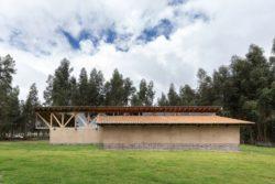 Façade jardin - Casa Lasso par RAMA Estudio - San Jose, Equateur © Jag Studio