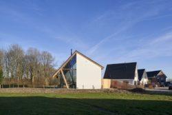 Façade vitrée et bois - Barnhouse par RVArchitecture - Werkhoven, Pays-Bas © Rene de Wit