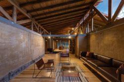 Salon et cuisine - Casa Lasso par RAMA Estudio - San Jose, Equateur © Jag Studio