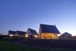 Vue panoramique - Barnhouse par RVArchitecture - Werkhoven, Pays-Bas © Rene de Wit