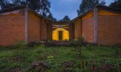 Façade principale - Chirath par Wallmakers - Kerala, Inde © Anand Jaju