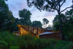 Façade toiture - Chirath par Wallmakers - Kerala, Inde © Anand Jaju