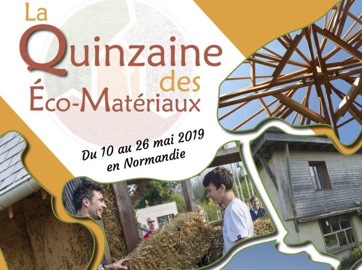 La Quinzaine des Eco-matériaux – Normandie (FR-76)