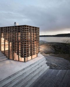 Ouvertures vitrées - House-Island par AtelierOlso - Skatoy, Norvège © Ivar Kvaal