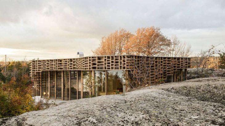 Une - House-Island par AtelierOlso - Skatoy, Norvège © Ivar Kvaal