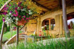 Façade principale - Location vacances Hobbit semi enterree - Picardie, France