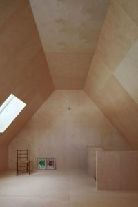 Mezzanine chambre - Hatley-House par Pelletier-Fontenay - Hatley, Canada © James Brittain