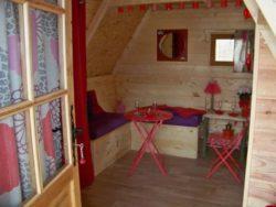 Mini pièce séjour - Location vacances Hobbit semi enterree - Picardie, France